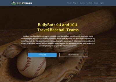 BullyBats Travel Ball